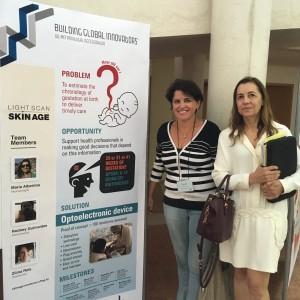 Professoras Zilma Reis e Maria Albertina, da esquerda para a direita. Foto: Arquivo Pessoal